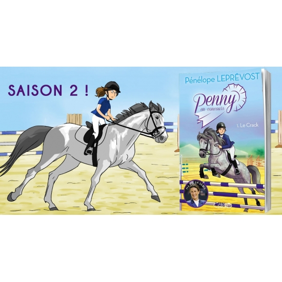 Penny au poney-club Tome 2