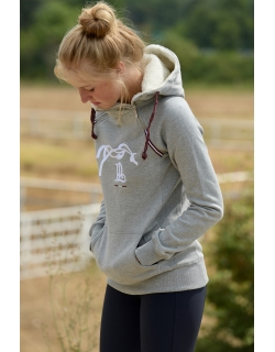 Sweat Double zip - gris