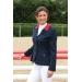 veste de concours enfant bleu marine à col rouge Pénélope store