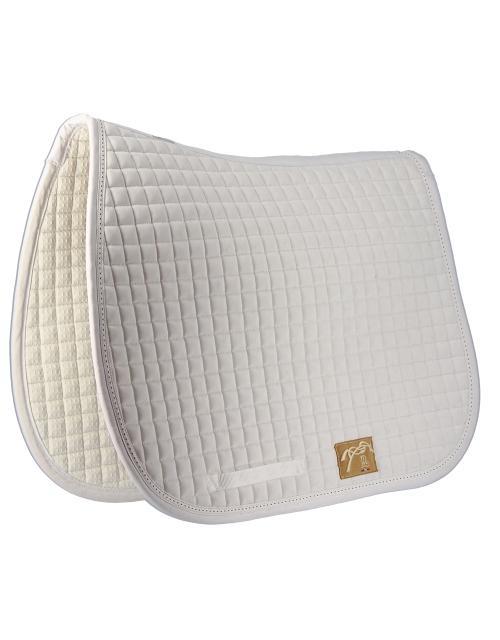 Classic Essentials saddle Pad - White