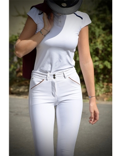 Point Sellier Breeches - White