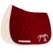 Classic Point Sellier saddle pad Burgundy & white Pénélope Store