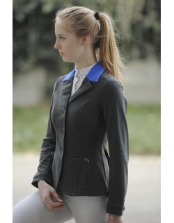 veste de concours Paris Noir et bleu roi pour enfant Pénélope store