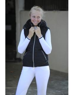 doudoune noire sans manches enfant Pénélope