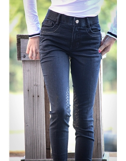 Denim Breeches Pénélope -...