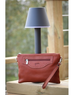 """Emma"" Small Handbag - Cognac"