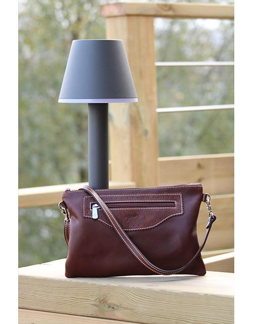 Emma Small Handbag - Havana
