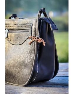 Virgule bag's jewel - Black...