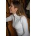 Polo de concours Bruges - Blanc & galon tricolore