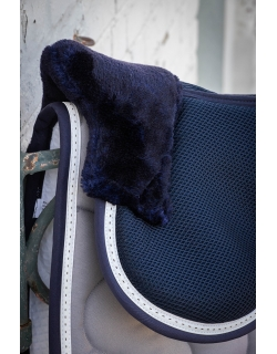 Back pad with mesh - Navy &...