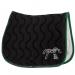 Point sellier Land Rover x Pénélope saddle pad - Black & green