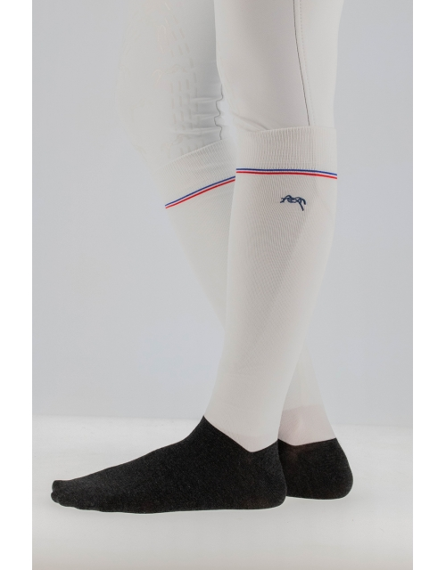 Luxe socks - White