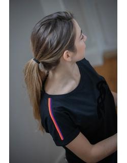 T-shirt Poppy noir - Junior
