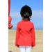veste de concours light rouge enfant Pénélope-store.