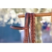 US braided reins - Hazelnut