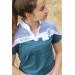 Indy polo shirt peacock blue - Junior