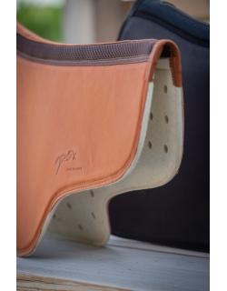 PRO2 Leather & Felt half Pad