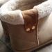 boots fourrées crème