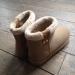 boots beige avec fausse fourrure