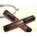 protections d'éperons en cuir rouge skorpii Pénélope store